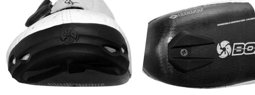 Защита пятки и носка для велотуфель
